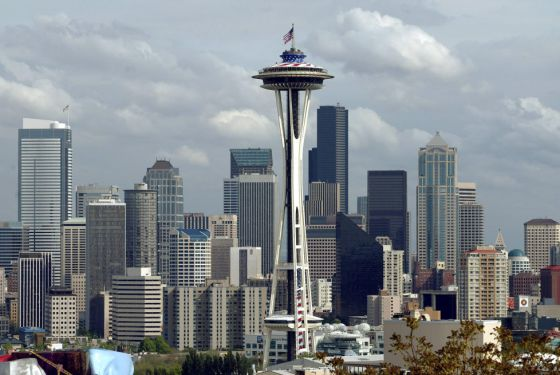 Torre Space Needle en Seattle