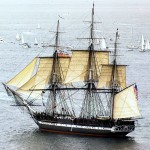 Visitando el USS Constitution en Boston